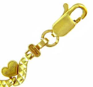 Yellow Gold Bracelet - The Love is Everywhere Bracelet
