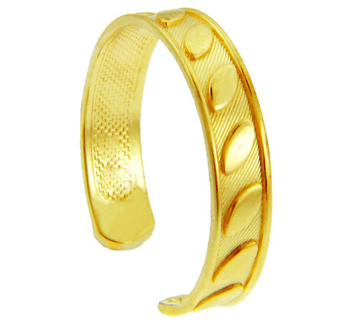 Fancy Marquis Yellow Gold Toe Ring