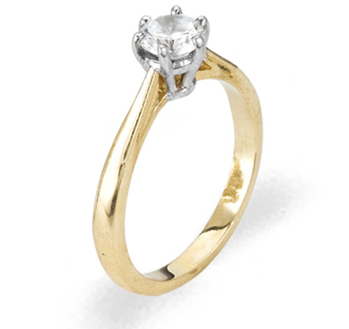Ladies Cubic Zirconia Ring - The Carina Diamento