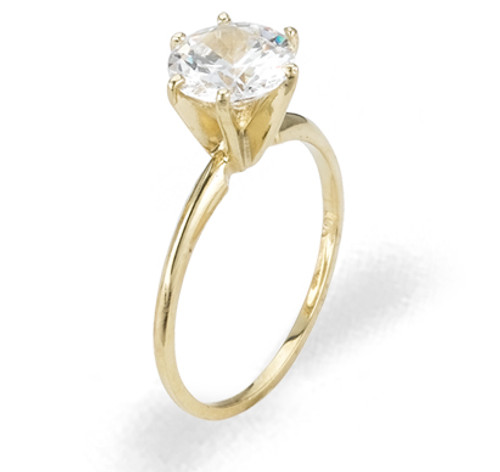 Ladies Cubic Zirconia Ring - The Kai Diamento