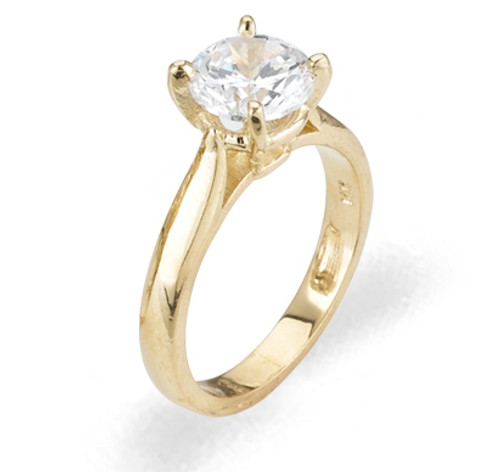 Ladies Cubic Zirconia Ring - The Nadia Diamento