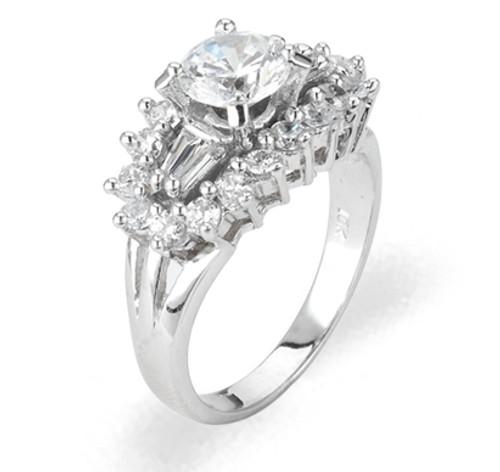 Ladies Cubic Zirconia Ring - The Danica Diamento