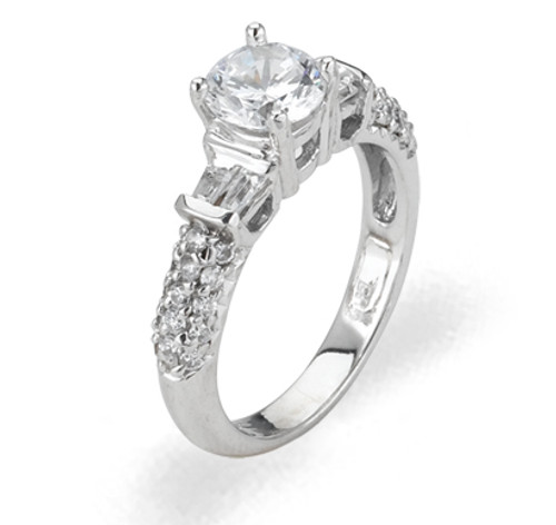 Ladies Cubic Zirconia Ring - The Ellis Diamento
