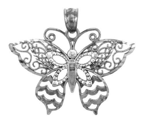 Silver Charms - The Breathtaking Wings Butterfly