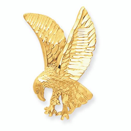 14K Gold  Eagle Charm