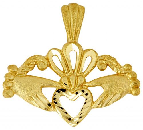 Claddagh Gold Pendant
