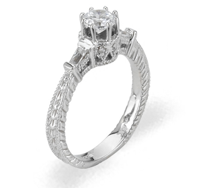 Ladies Cubic Zirconia Ring - The Bianca Diamento