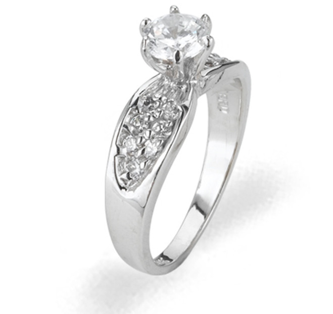 Ladies Cubic Zirconia Ring - The Rae Diamento