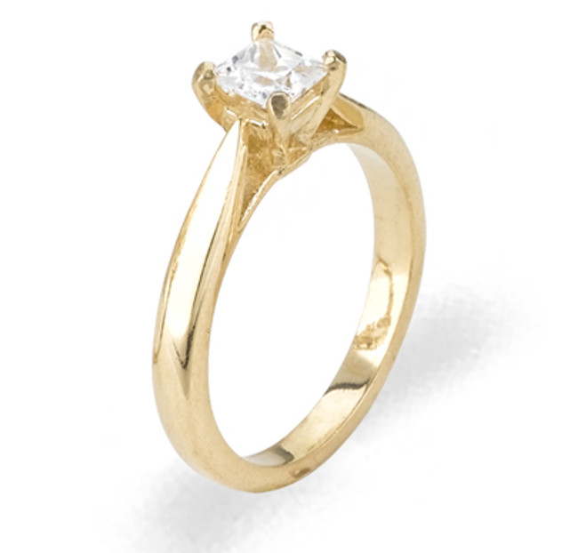 Ladies Cubic Zirconia Ring - The Sade Diamento