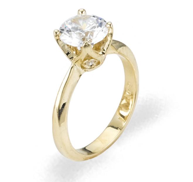Ladies Cubic Zirconia Ring - The Belen Diamento