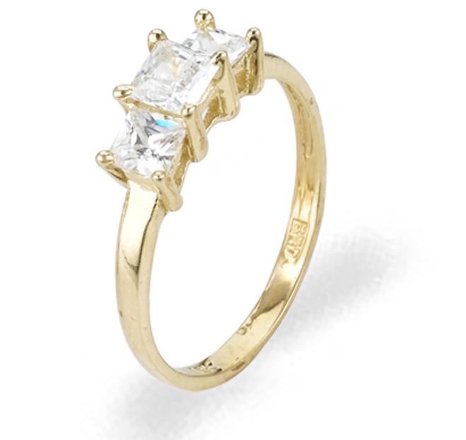 Ladies Cubic Zirconia Ring - The Owena Diamento