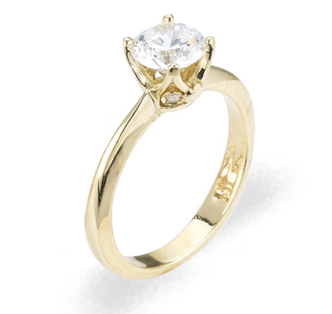 Ladies Cubic Zirconia Ring - The Willow Diamento