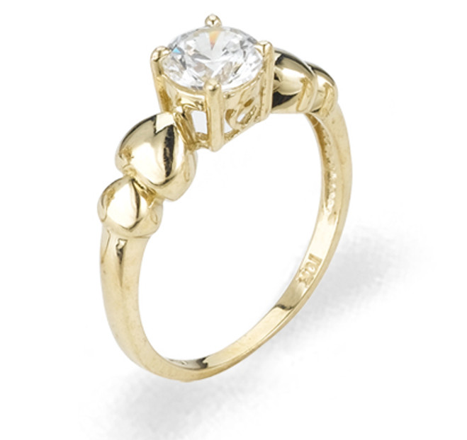 Ladies Cubic Zirconia Ring - The Phoebe Diamento