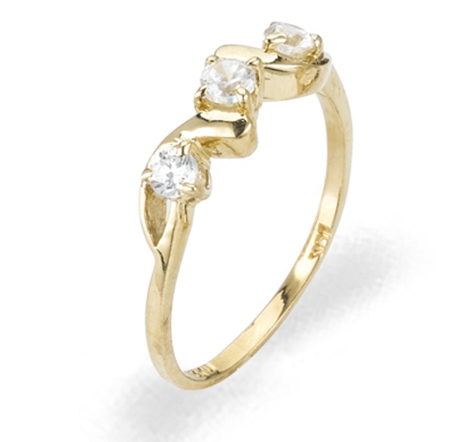 Ladies Cubic Zirconia Ring - The Calla Diamento