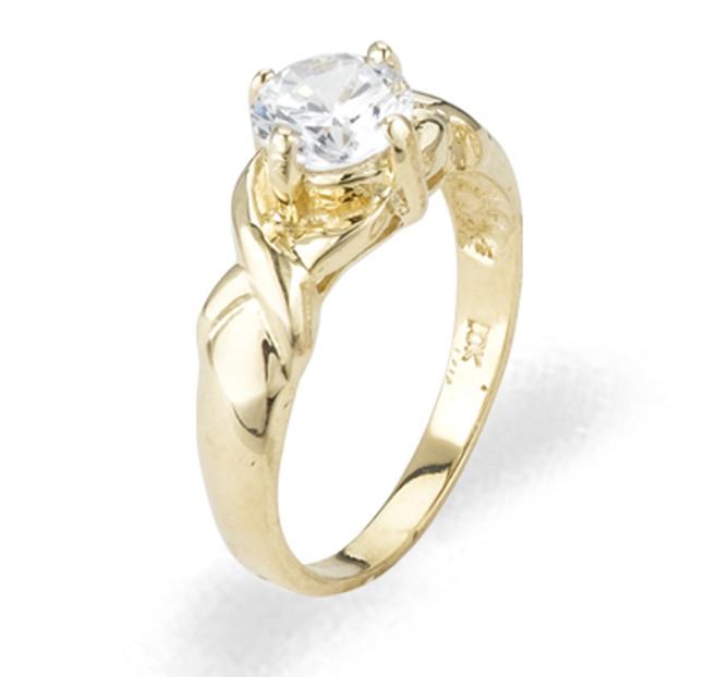 Ladies Cubic Zirconia Ring - The Ami Diamento