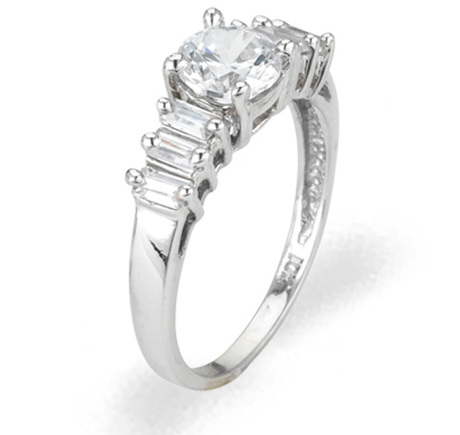 Ladies Cubic Zirconia Ring - The Laurel Diamento