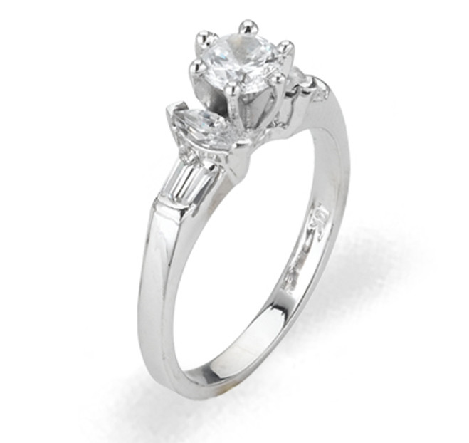 Ladies Cubic Zirconia Ring - The Vera Diamento