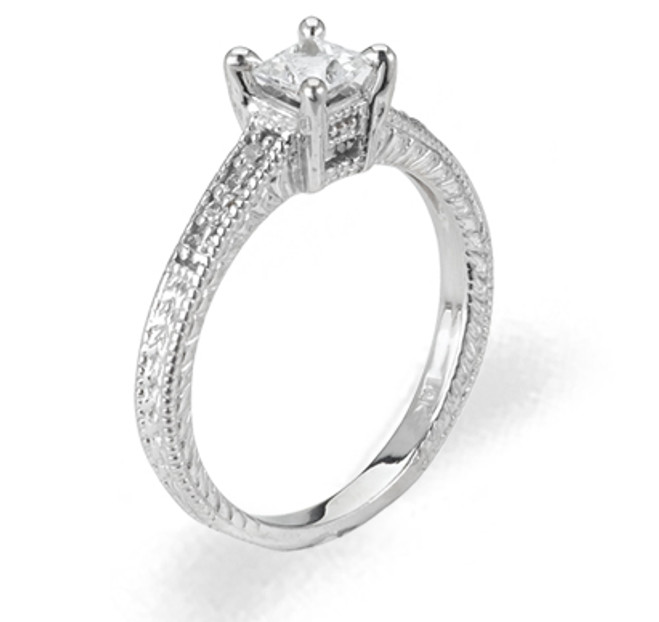 Ladies Cubic Zirconia Ring - The Tanika Diamento
