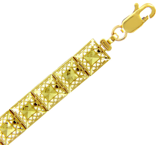 Yellow Gold Bracelet - The Alia Bracelet