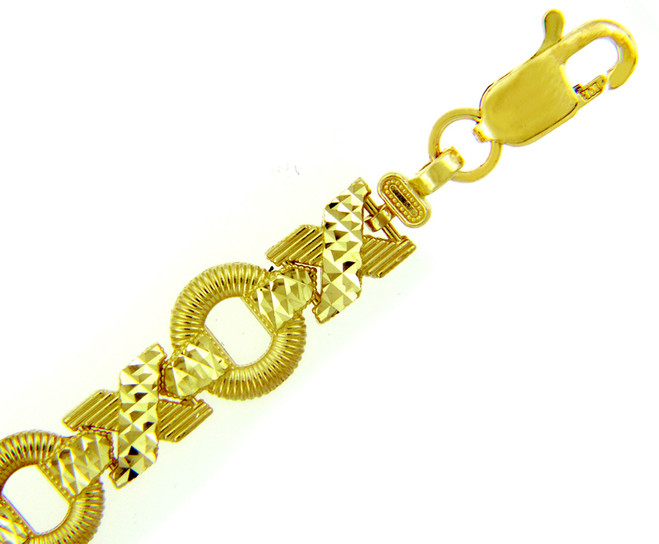 Yellow Gold Bracelet - XOXO Bracelet