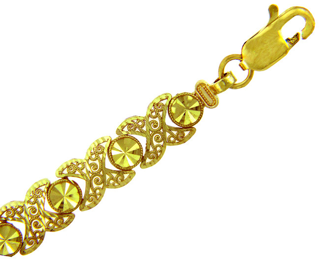 Yellow Gold Bracelet - The Nova Bracelet