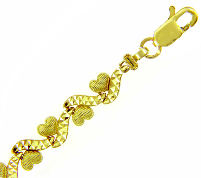 Yellow Gold Bracelet - The Love is Everywhere Bracelet