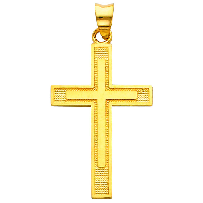 The Way of the Cross pendant - 14K Gold
