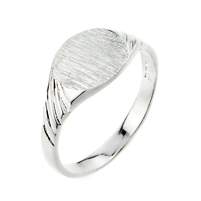 Sterling Silver  Signet Men's Ring