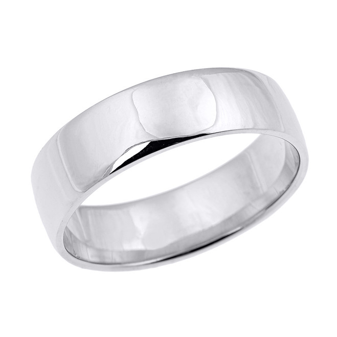Sterling Silver Classic Thumb Band - 7 MM