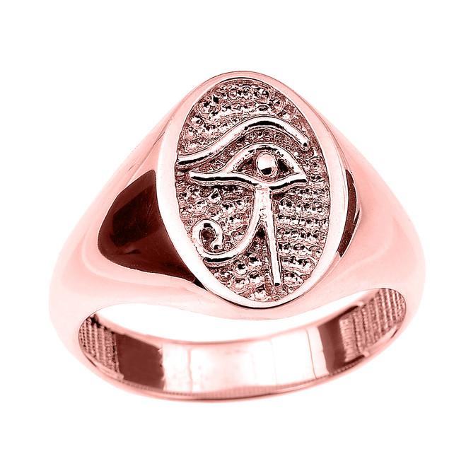 Eye Of Horus Ring Gold