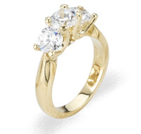 Ladies Cubic Zirconia Ring - The Neve Diamento