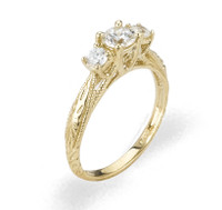 Ladies Cubic Zirconia Ring - The Yaretzi Diamento