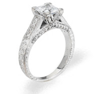 Ladies Cubic Zirconia - The Ginny Diamento