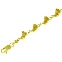 Yellow Gold Bracelet - The Cleopatra Bracelet