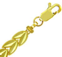 Yellow Gold Bracelet - The Tulip Bracelet