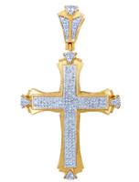 Diamond Pave Cross Pendant