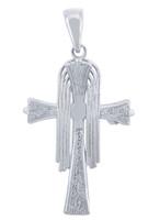 Silver Crucifix Pendant - The Rejoice Crucifix