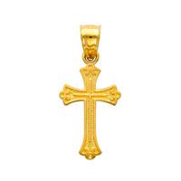14K Gold - The Redeemer Charm Pendant