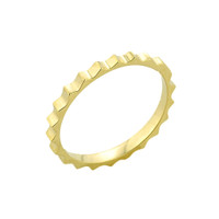 Gold Spiked Toe Ring