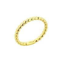Gold Ball Chain Bead Baby Ring