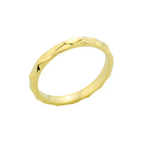 Gold Textured Spike Baby Ring