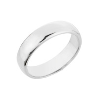 Sterling Silver Classic Thumb Ring 5MM