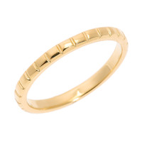 Yellow Gold Textured Thumb Ring