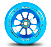 River GLIDE Wheel 110mm Blue/Blue (1) www.krypticproscooters.com