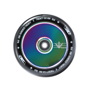Envy HOLLOW CORE Wheel 120mm-OIL SLICK/BLACK www.krypticproscooters.com