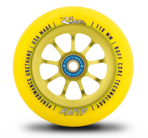 River Wheel SUNRISE Rapid 110mm Wheel  www.krypticproscooters.com