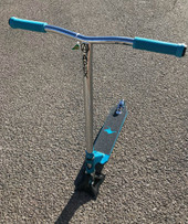 """Kryptic ELEVATE"" Custom Scooter www.krypticproscooters.com"