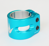 Envy Prodigy 2 Bolt OVERSIZED Clamp-TEAL www.krypticproscooters.com