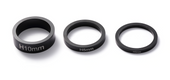 Envy Headset Spacer Set-BLACK www.krypticproscooters.com