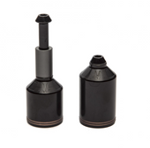 Ethic Aluminum Peg Set-BLACK/GREY www.krypticproscooters.com